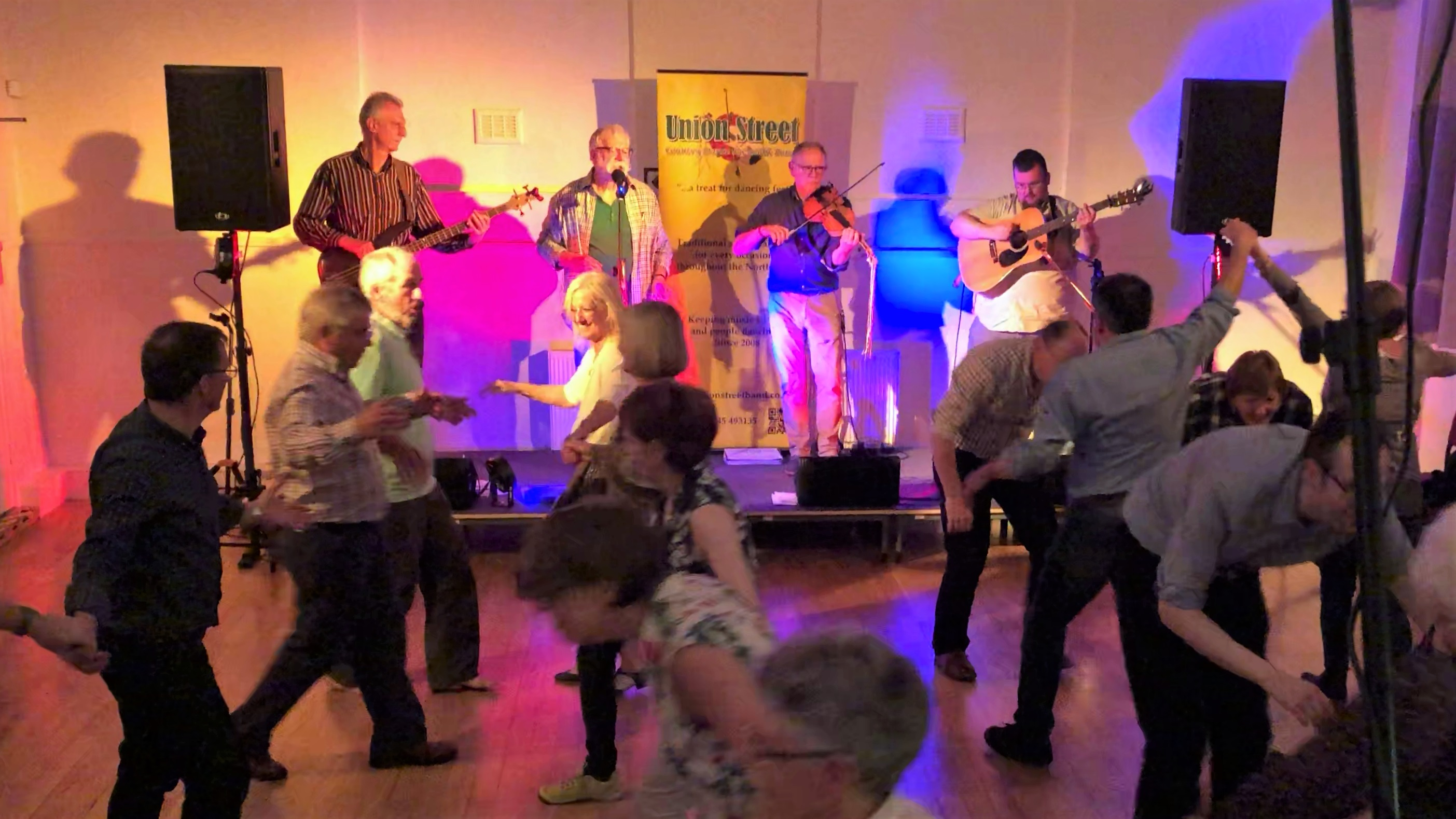 Union Street Ceilidh Band with Roger Downing - Mellor Brook Community Centre - 2018